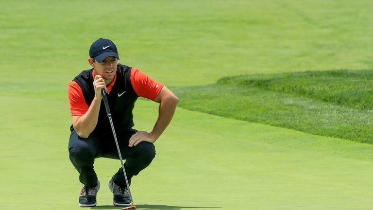 McIlroy remains confident of getting into 'red numbers' on Friday
