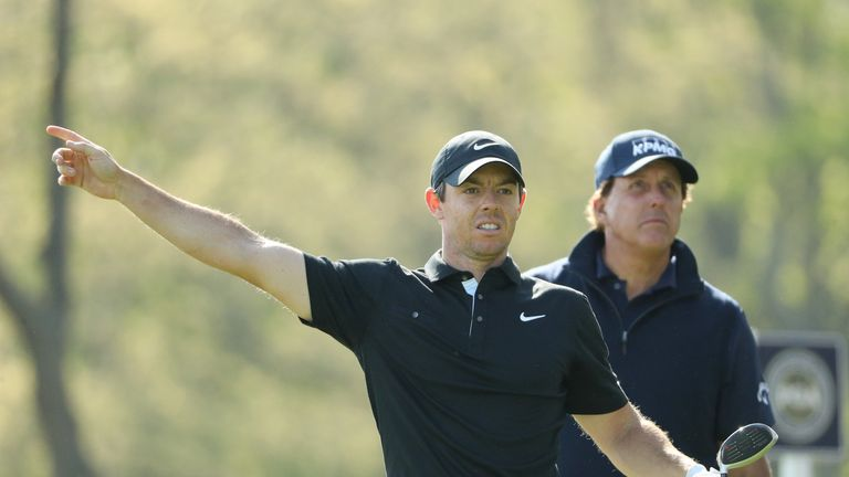 McIlroy was five over after three holes of his second round