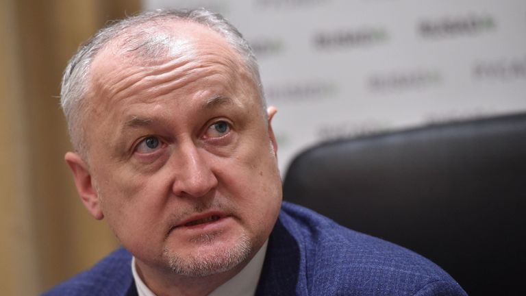 Yuri Ganus wants to purge Russia's athletics federation of its management and coaching staff