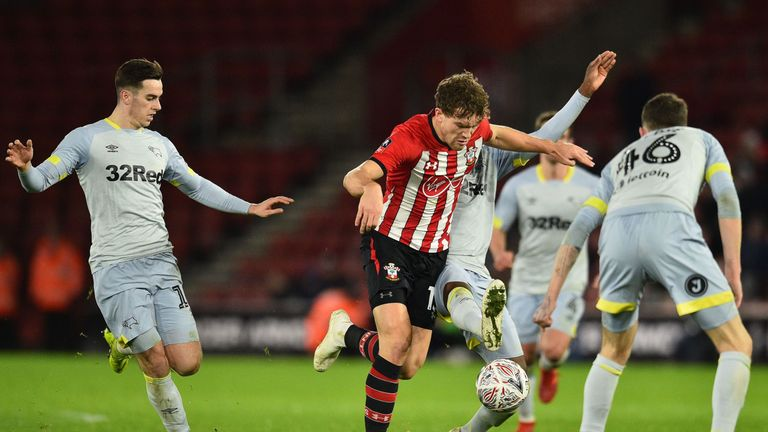 Sam Gallagher is attracting interest from Premier League and Championship clubs