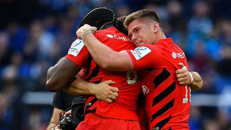 Saracens become the first English club side to win three European Cup titles (2016, 2017, 2019)