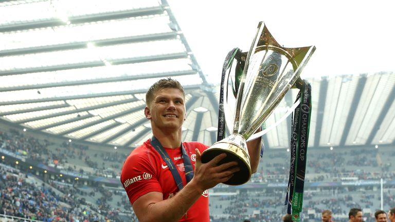 Saracens' squad includes a number of key England players including captain Owen Farrell