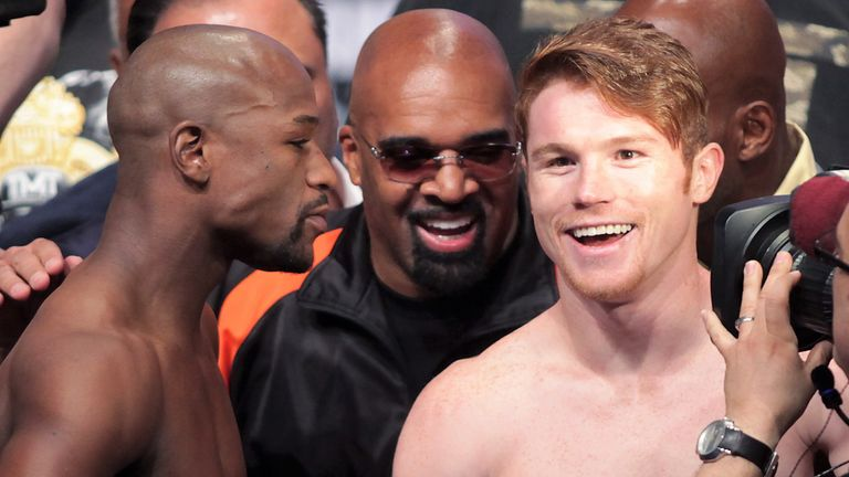 Saul Alvarez suffered sole defeat when he faced Floyd Mayweather