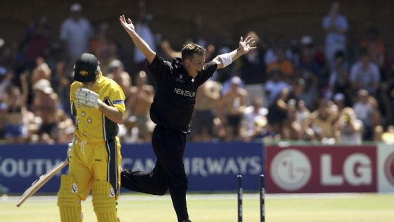 Shane Bond blew Australia away with 6-23 in Port Elizabeth during the 2003 World Cup