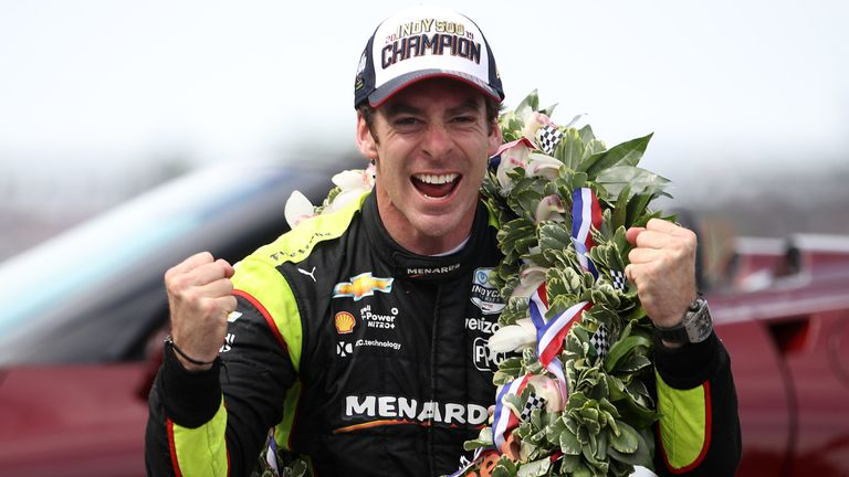 Simon Pagenaud won his first Indianapolis 500 on Sunday