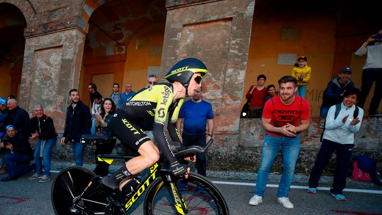 Simon Yates won the Vuelta a Espana last year