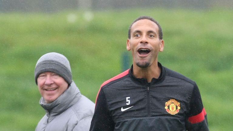 Ferdinand won seven Premier League titles under Sir Alex Ferguson