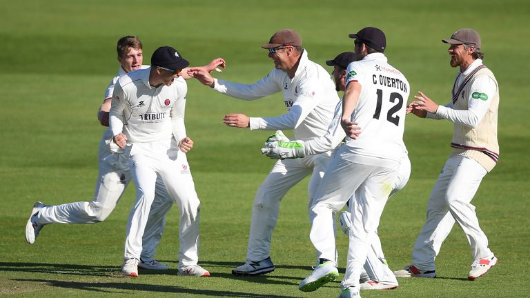 Somerset are closing in on another County Championship win