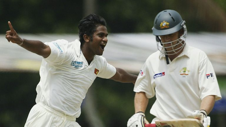 Nuwan Zoysa took 64 wickets in his 30 Test matches for Sri Lanka