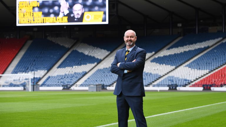 New Scotland boss Steve Clarke has been inspired by the achievements of Kerr's team