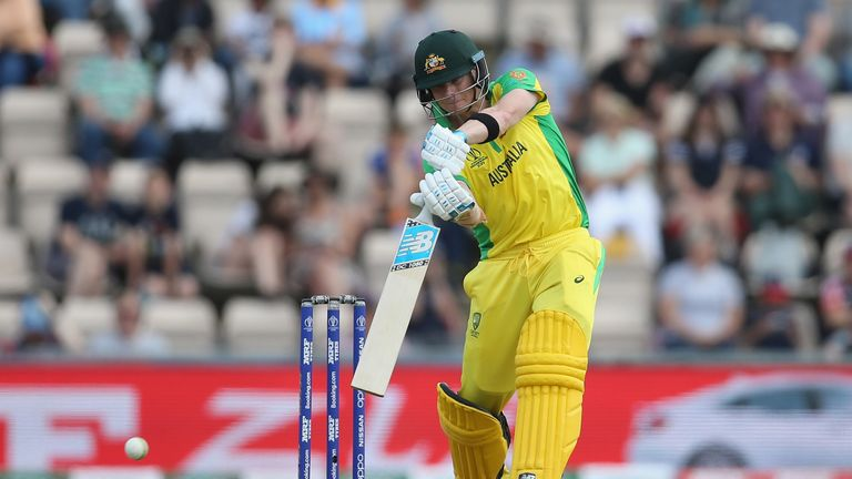 Steve Smith, Australia, World Cup warm-up match vs England