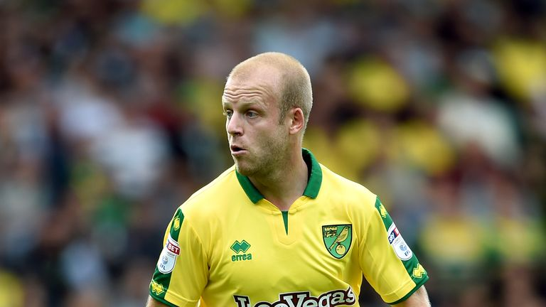Steven Naismith released by Norwich along with Ivo Pinto, Matt Jarvis and Yanic Wildschut