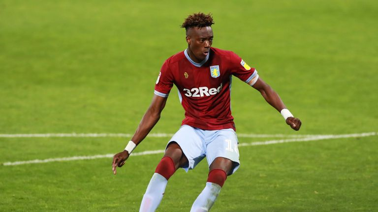 Tammy Abraham scored the winning penalty for Aston Villa