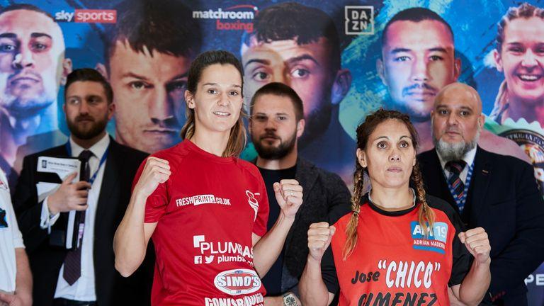 Terri Harper puts her WBA international lightweight belt on the line against Claudia Lopez
