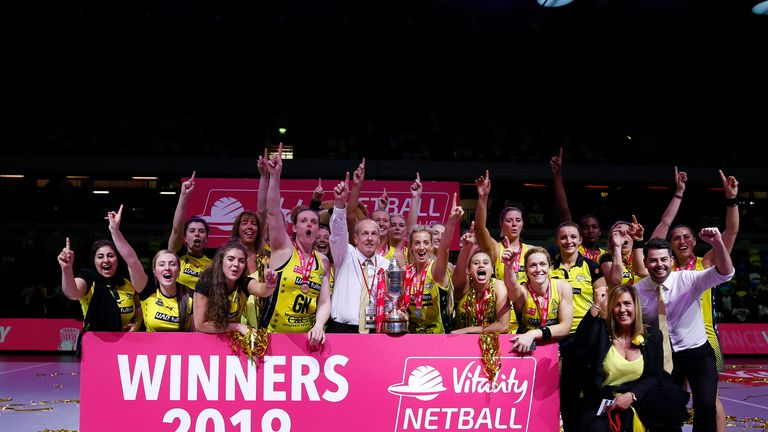 Manchester Thunder took home the title in May and denied Wasps Netball a third successive victory