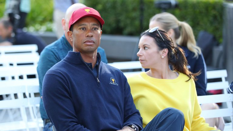 Woods' girlfriend, Erica Herman, is also named in the lawsuit