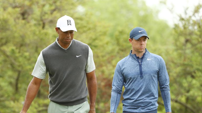 Tiger Woods and Rory McIlroy are both among the favourites for PGA Championship victory