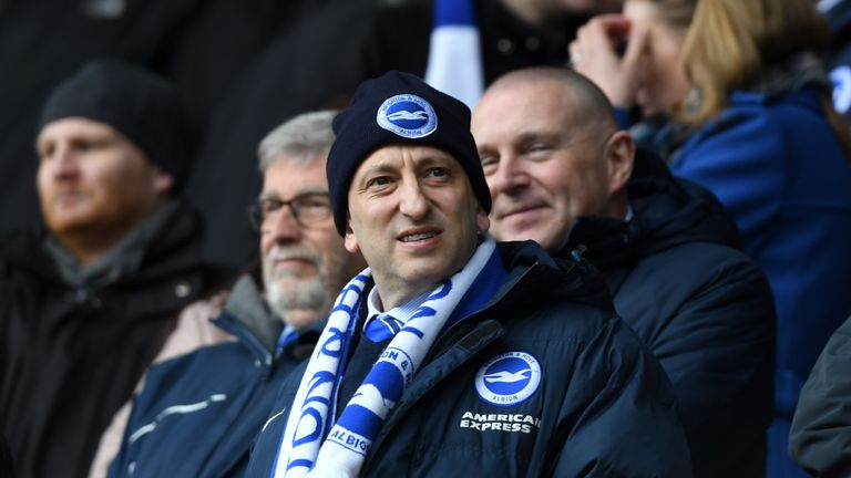 Brighton chairman Tony Bloom says the club's form in the second half of the season led to Hughton's departure