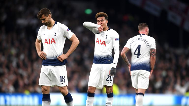 Tottenham have to mount a second-leg comeback in the Johan Cruyff ArenA