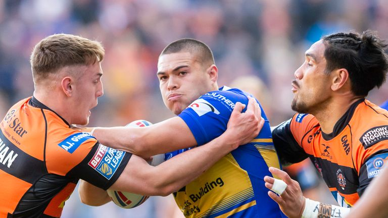 Leeds lost Tui Lolohea to injury in the first half