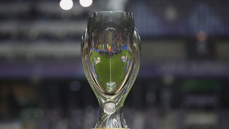 The UEFA Super Cup will be contested by two English teams for the first time ever