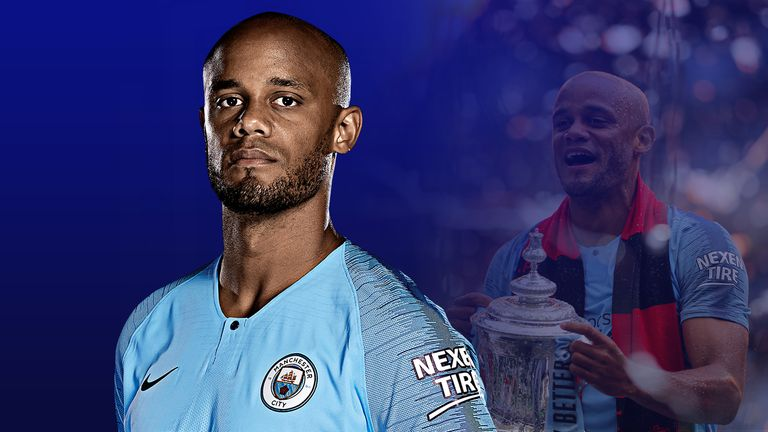 Vincent Kompany has announced his departure from Manchester City
