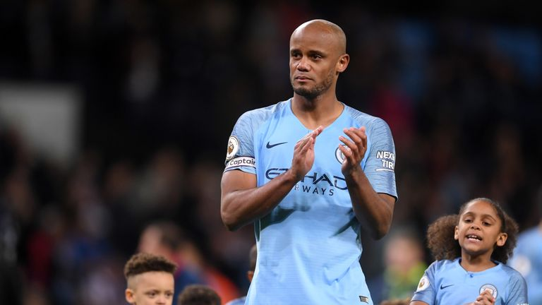 Vincent Kompany has announced he will be leaving Manchester City to become player-manager of Anderlecht.