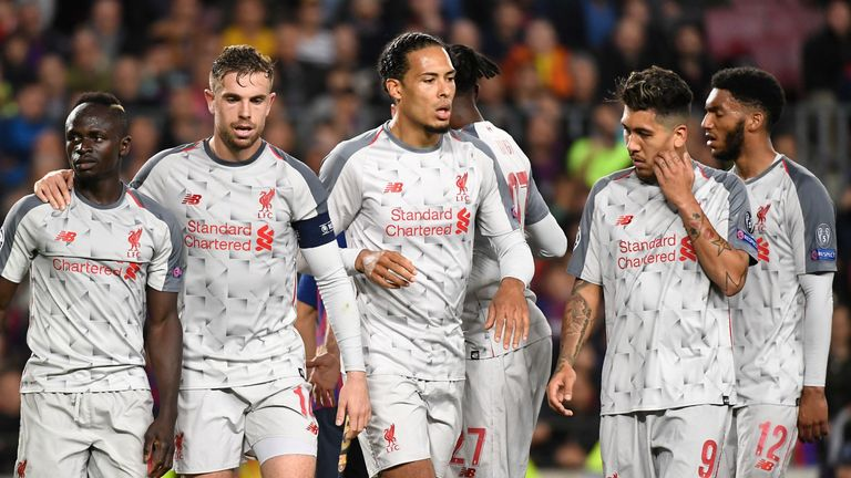 Liverpool will look to overturn a three-goal deficit when they face Barcelona at Anfield on Tuesday