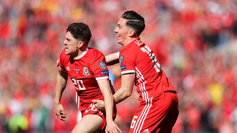 Daniel James scored the winning goal for Wales in their opening Euro 2020 Qualifier against Slovakia