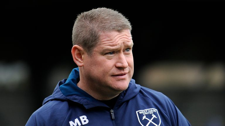 West Ham Women manager Matt Beard