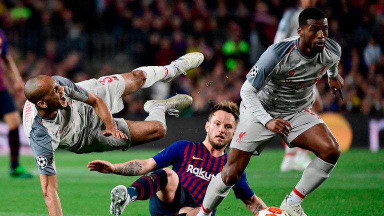 Wijnaldum is determined to keep the pressure on Manchester City