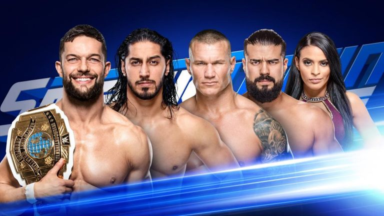 Ali, Andrade, Randy Orton and Finn Balor meet in a pre-Money In The Bank fatal four-way on tonight's SmackDown