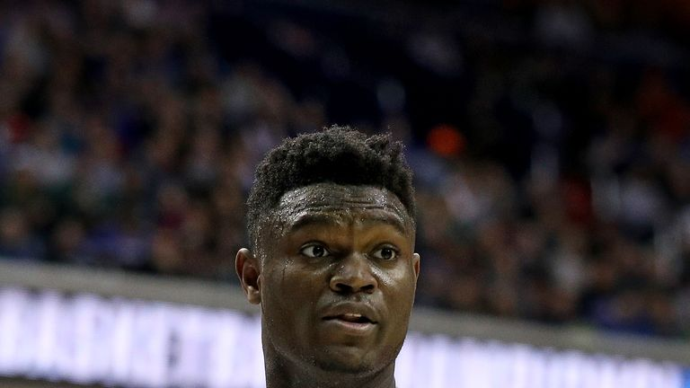 Zion Williamson is expected to be the No 1 pick of the New Orleans Pelicans at the June 20 NBA Draft