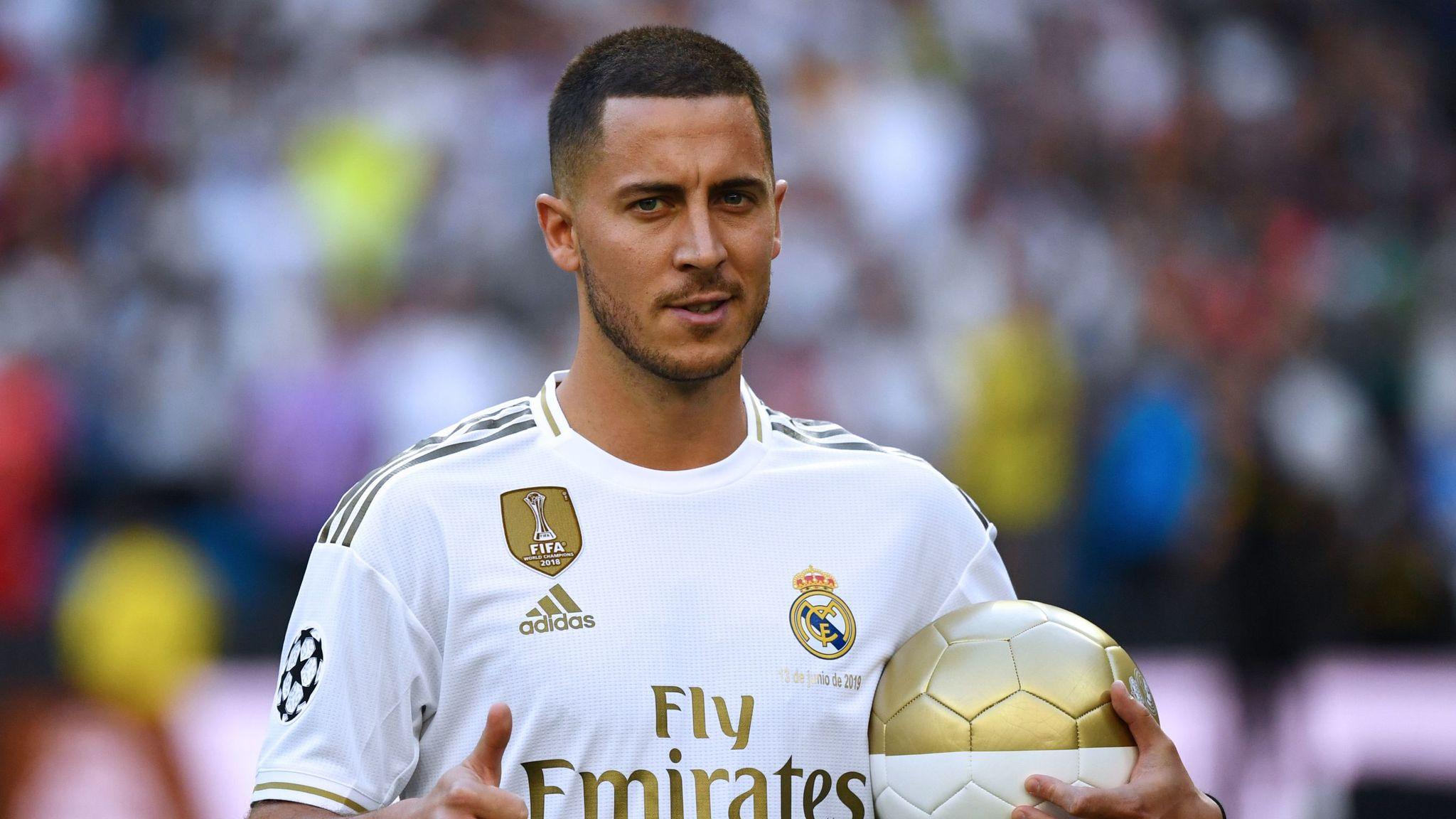 Eden Hazard out to make history at Real Madrid after