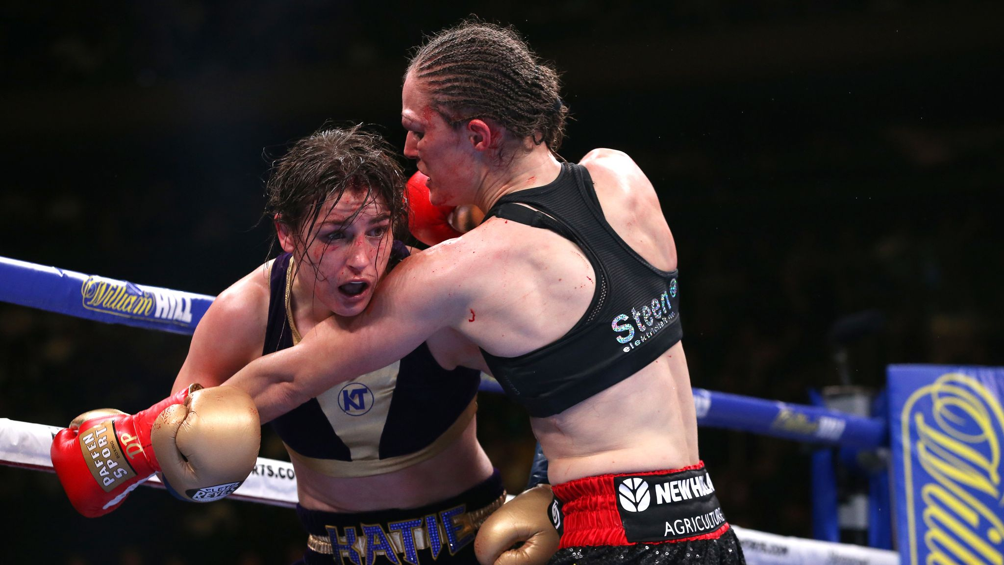 Taylor vs Persoon: Delfine Persoon says 'Katie throws one shot ...