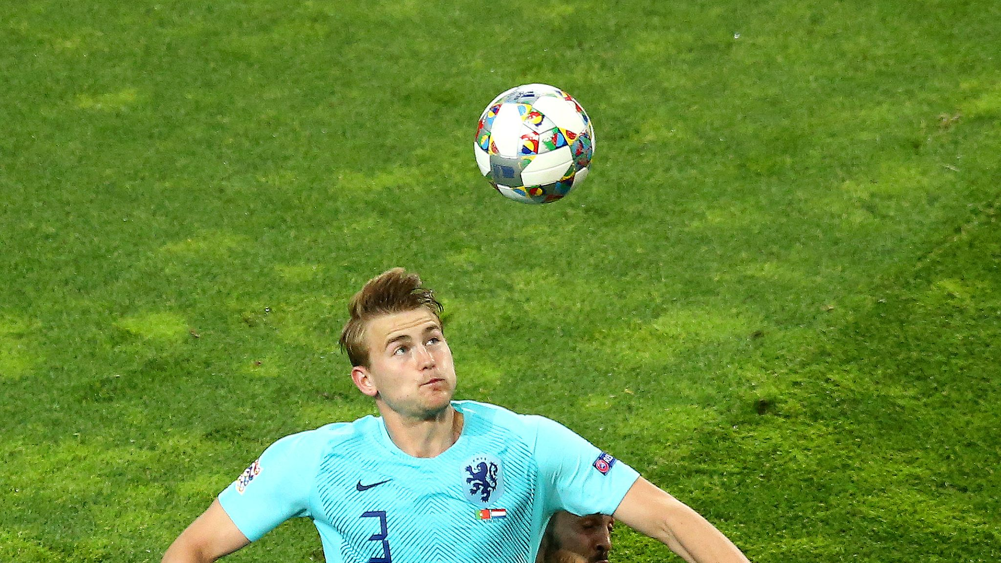best service 5217b 07b4d Matthijs de Ligt was asked about moving to Juventus by ...