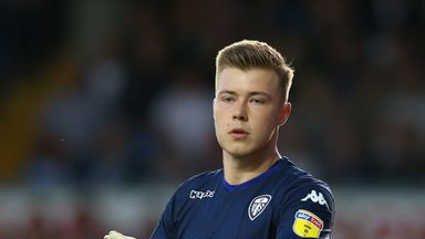 Bailey Peacock-Farrell impressed in goal for Leeds last season, but lost his place to Kiko Casilla