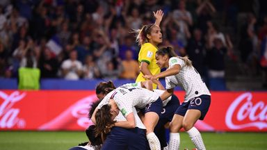 France captain Amandine Henry came to the rescue in extra-time