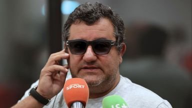 Mino Raiola previously said the ban was based on 'false grounds and lie' and accused Italian football of being in a 'disastrous state'