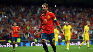 Spain maintained their 100 per cent record with a fourth-successive Group F win