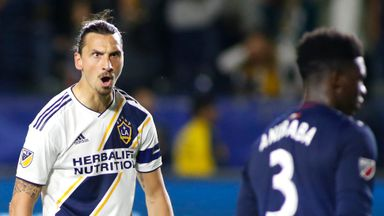 Zlatan leaves Galaxy, but 'the story continues'