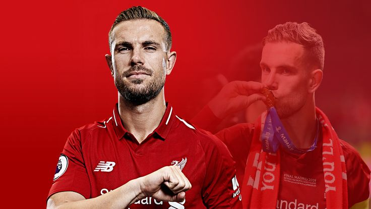 Liverpool captain Jordan Henderson led the team to glory in the Champions League