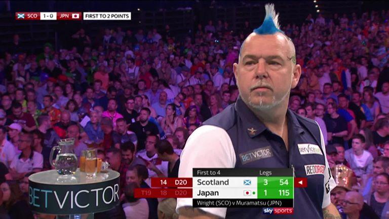 Wright won his semi final against Haruki Muramatsu to send Scotland through to the final