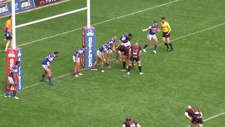 Highlights from the Betfred Super League clash between Salford and Wakefield
