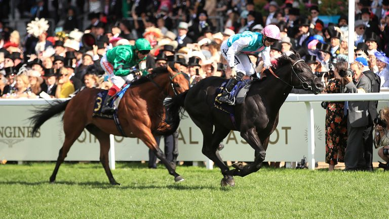 Biometric and Harry Bentley deny Frankie Dettori more Royal Ascot glory