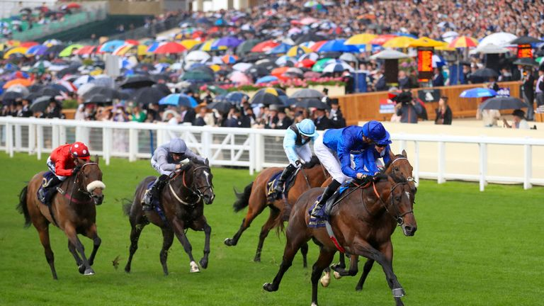 Blue Point masters Battaash for the second year running at Royal Ascot