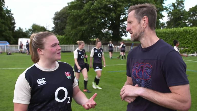 Will Greenwood went to the Red Roses' training base at Bisham Abbey to get the lowdown and train with the England squad ahead of their trip to San Diego for the 2019 Super Series