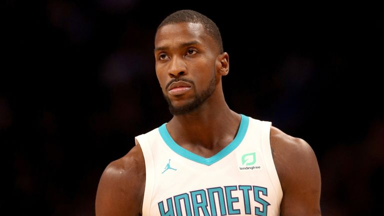 Michael Kidd-Gilchrist in action for the Hornets