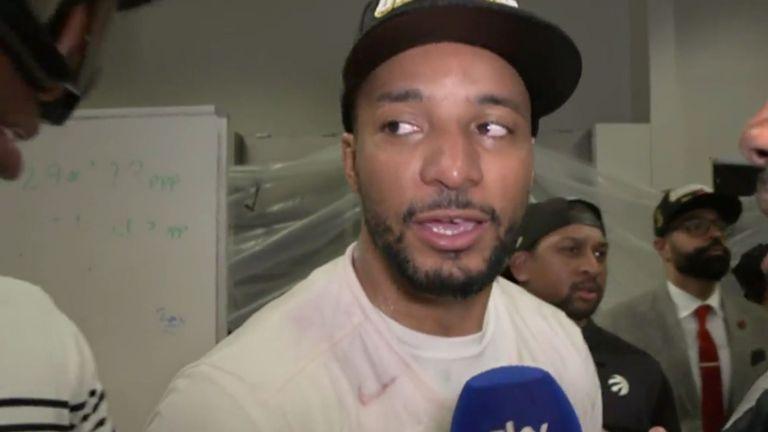 Norman Powell tells Sky Sports NBA about Drake congratulating him via FaceTime after the Raptors' NBA Finals win
