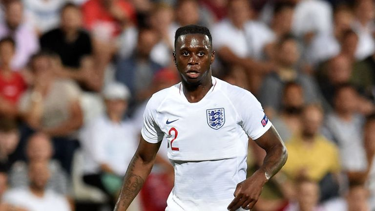Aaron Wan-Bissaka is currently on international duty with England U21s